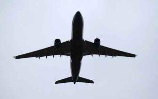 silhouette avion