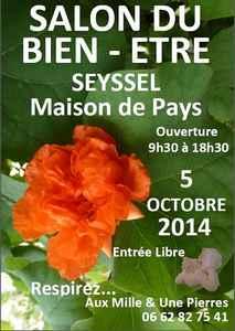 Salon du bien-être de Seyssel | 05 octobre 2014 @ Maison de Pays | Seyssel | Rhône-Alpes | France